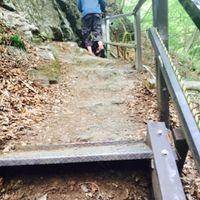 「昇仙峡にある敷渓谷大滝では別世界が味わえます」の画像