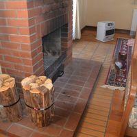「暖炉がたのしめる宿」の画像